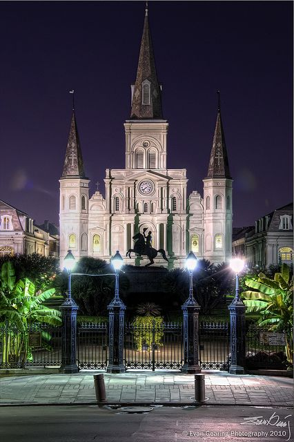 St Louis Cathedral in Jackson Square ~ New Orleans, Louisiana