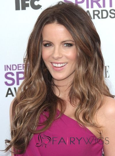 Sketchy Brown Full Lace Remy Hair Wigs for Women