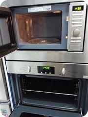 Limpieza de horno y microondas