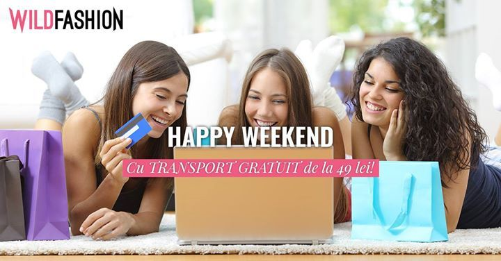 Weekend-ul e pentru shopping fara alte costuri! 💝👗🎉  http://www.wildfashion.ro/rochii-dama?utm_campaign=CE.1.C.V.18.&utm_medium=ORG.PC.social&utm_source=facebook
