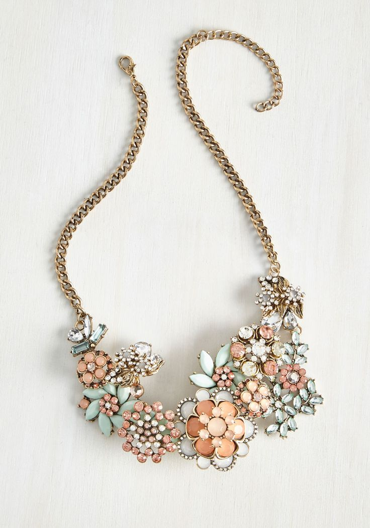 Vow to Wow Necklace in Blush, @ModCloth