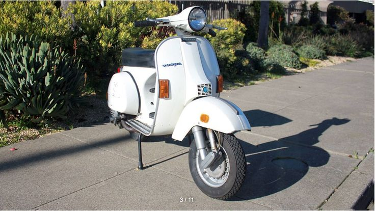 We love this 1981 Vespa P200E.  If you like to ride then the P200 is the scooter for you. It is fast, comfortable and reliable. It is simply the easiest of all the vintage Vespas to use on a daily basis.   #Vespa #VintageScooter #VespaStyle #VintageVespa #ItalianClassic #VespaHobby #VintageStyle #VintageCollector #RestoredScooter #SanFrancisco #SFYelp #SFLove #SFBucketlist