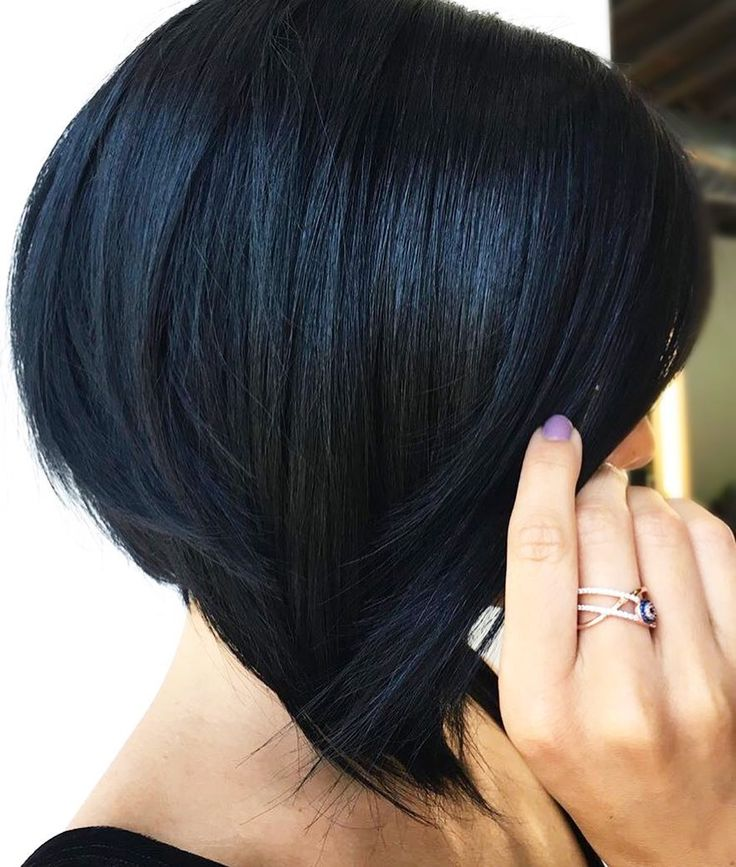 Jet Black Hair Color From Gigi S Salon Styling Studio Formula 1 N Full Spectrum Permanent With Pure B Mixed