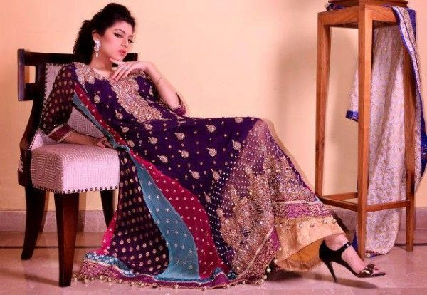 Bridal and Party Jucy Colors Dresses 2013 by Jawwad Ghayas