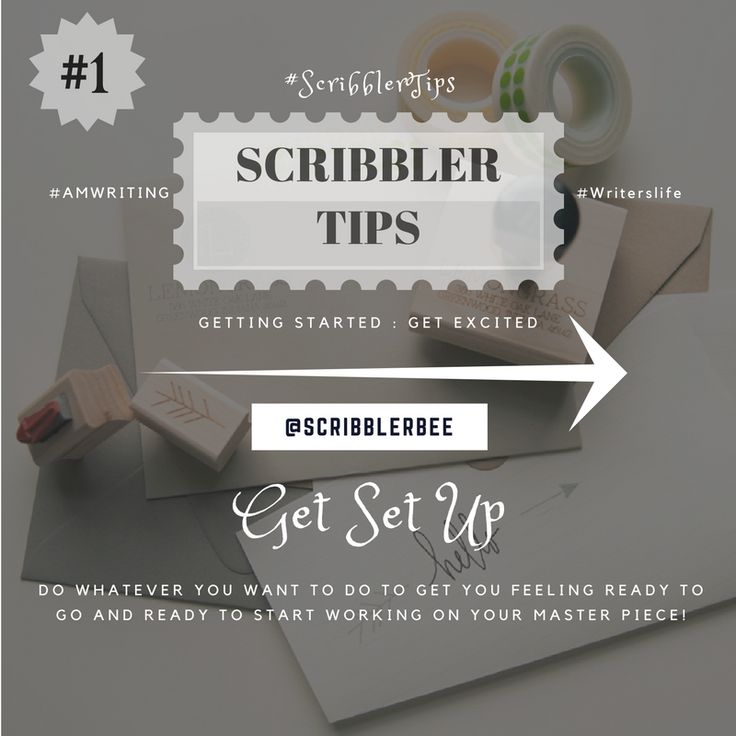 ScribblerTip number 1 - Getting set up! https://www.tumblr.com/blog/scribblerbee-things