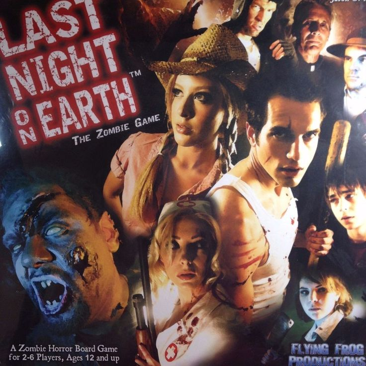 One New Last Night On Earth The Zombie Role Playing Game. 40 Card Zombie Deck. 20 Advanced Zombie Cards. 20 Advanced Hero Cards. 8 Scenario Cards. 6 Reference Cards. From NON-SMOKING, PET-FREE HOME.   eBay!