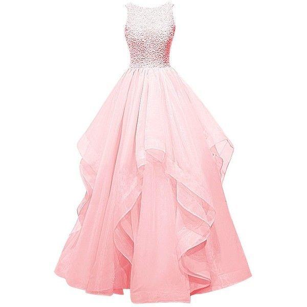 17 Best ideas about Long Pink Dresses on Pinterest | Long winter ...
