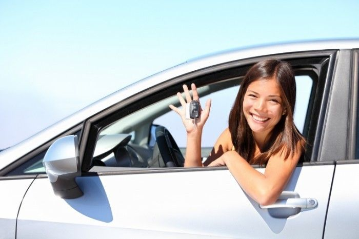 Девушка в авто   Girl in car