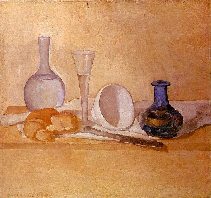 Giorgio Morandi - Still Life (The Blue Vase), 1920