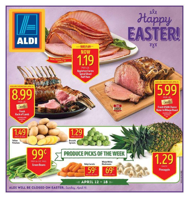 ALDI USA Weekly Ad Circular 4/12 - 4/18 United States #easter #grocery #Aldi