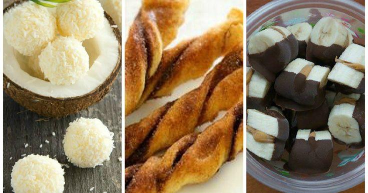 Rezepte für süße Snacks