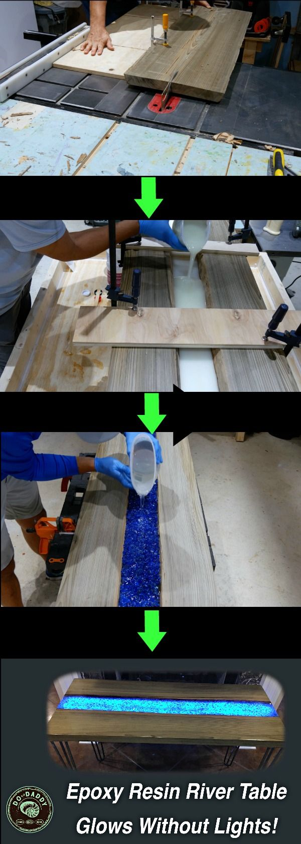How to Make an Epoxy Resin River Table – J D