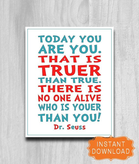 150 Best Printable Wall Art Quote Posters Nursery Kids: 39 Best Images About Dr Seuss On Pinterest