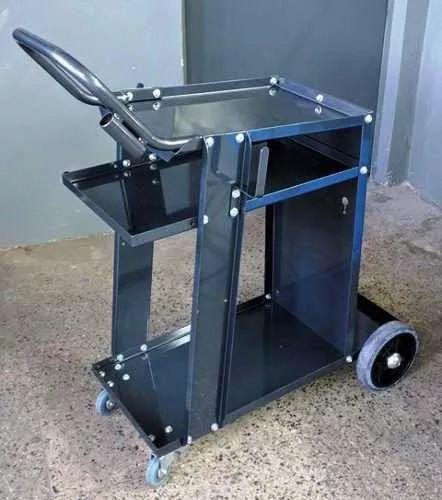 carro para soldadora mig - tig - plasma