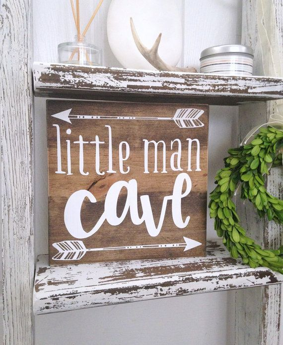 Little man cave woodland nursery hunting by WoodenThatBeSomethin