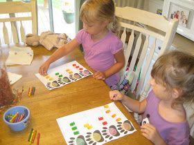Savvy Spending: We're Going on a Bear Hunt Preschool activities