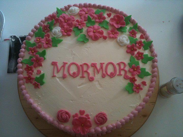 birthday cake Fødselsdags kage