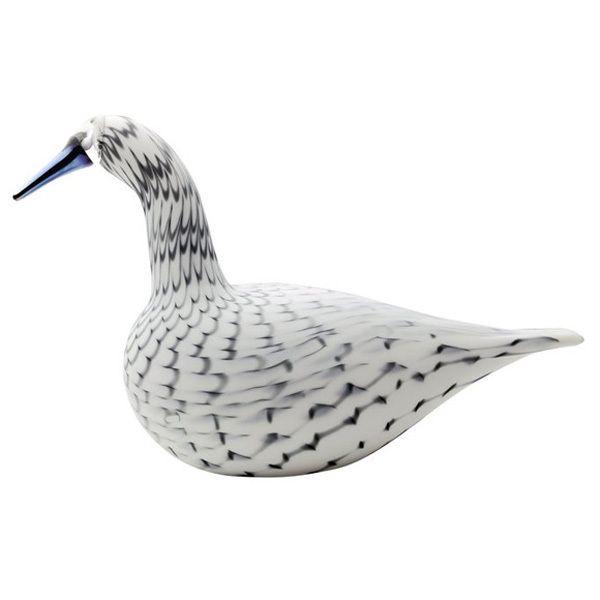 Birds by Toikka Karjalan laulujoutsen, harmaa