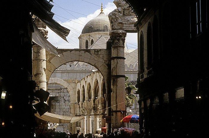 Damaskus Altstadt: Suq al-Hamidiya, Jupitertempel, Omayyaden-Moschee