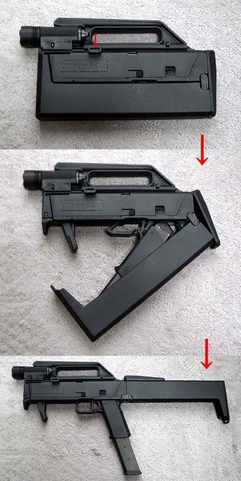 Magpul FMG9 (Folding Machine Gun 9)
