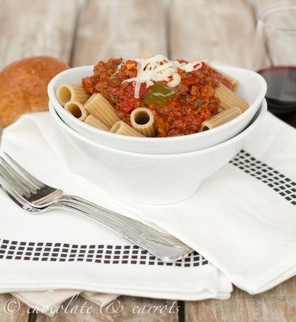 crock pot spaghetti sauce: with a secret ingredient!