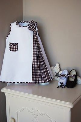 ...for the little girls...cute idea of pleated insert