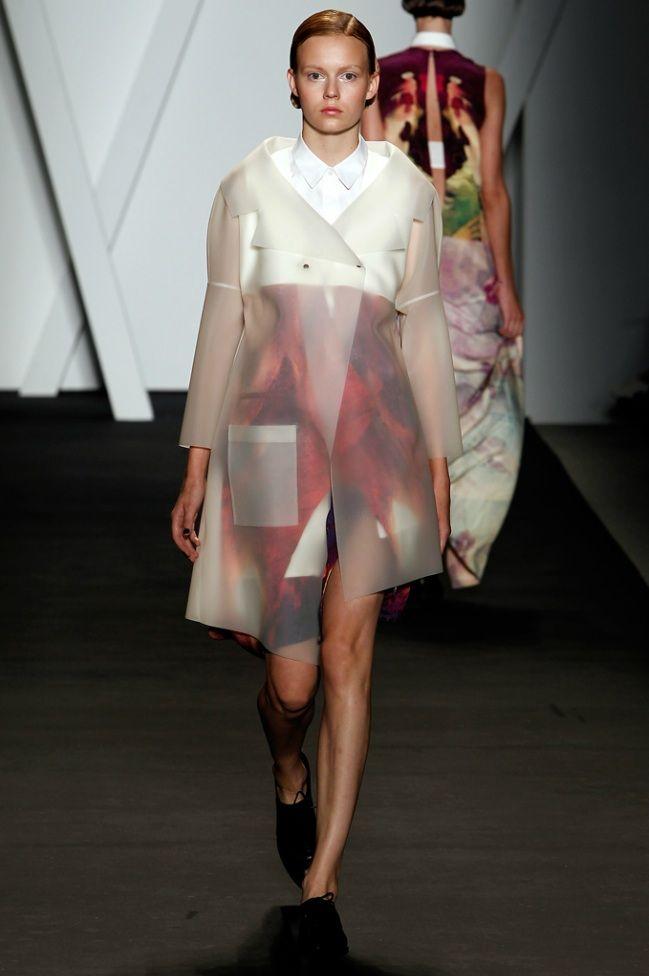 Michael Angel latex coat  2012
