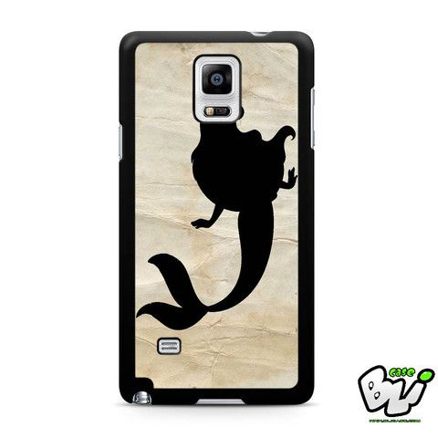 Ariel Mermaid Samsung Galaxy Note 4 Case