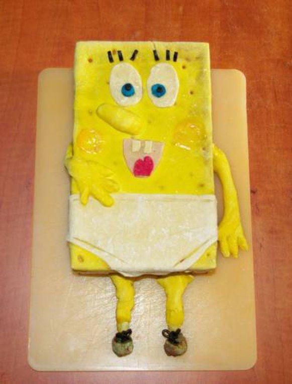 Gâteau Sponge Bob
