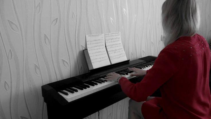 Schindler's list theme (piano). Список Шиндлера (фортепиано)