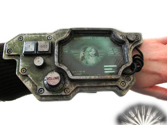 Cosplay Scifi Arm Computer - apocalyptic tech, LARP, test tubes, scientist, fallout, pip-boy on Etsy, Sold