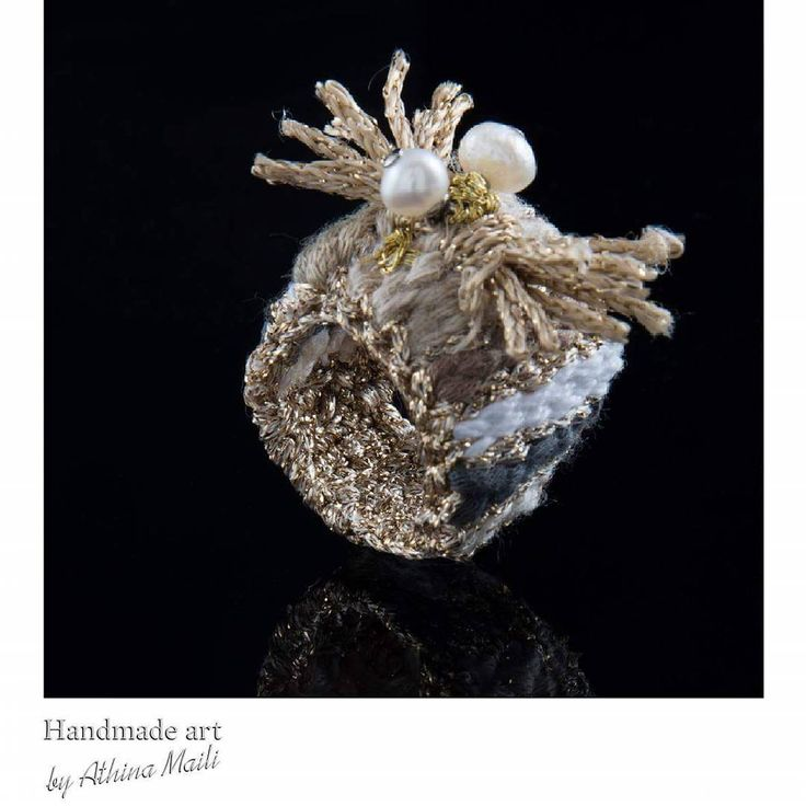 Handmade woven ring.