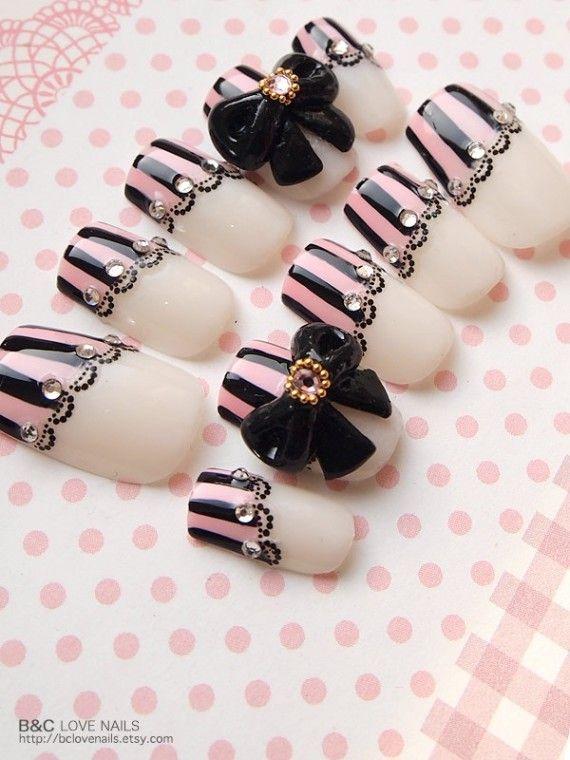 28 Fotos de uñas elegantes para usar en fiestas y eventos importantes