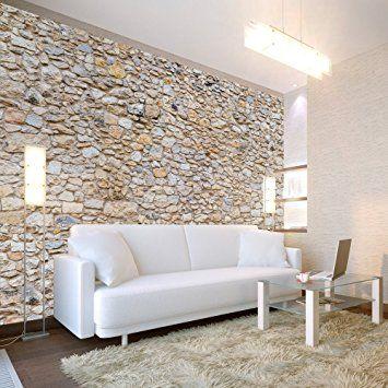 Murando® Fototapete Steinoptik 400x280 Cm   Vlies Tapete   Moderne Wanddeko    Design Tapete