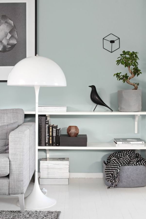 weiße elegante lampe lampenschirm stehlampe