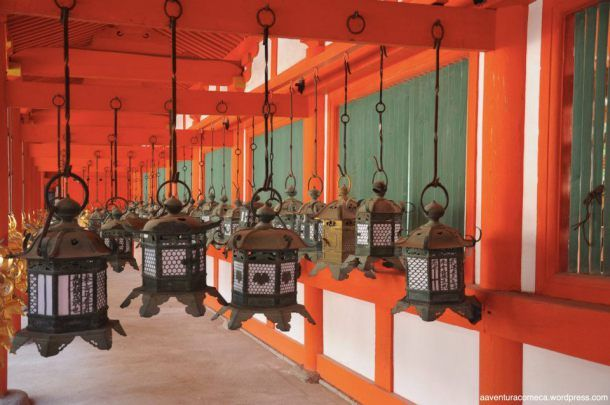sobre o Santuário Shintoísta de Kasuga (Templo das 2.000 lanternas) - Nara - JP