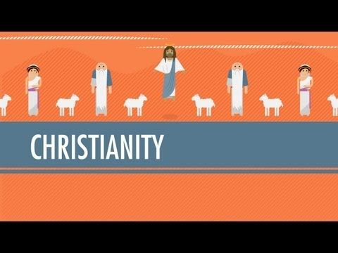 Christianity from Judaism to the Constantine: Crash Course World History #11, 11 minutes and excellent