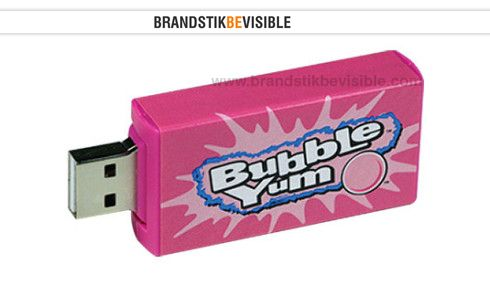 The Bubble Gum USB Flash Drive