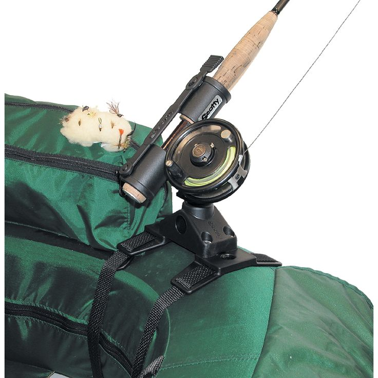 Scotty 267 Fly Rod Holder w/266 Float Tube Mount - https://www.boatpartsforless.com/shop/scotty-267-fly-rod-holder-w266-float-tube-mount/