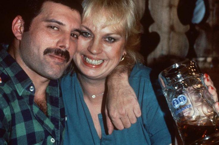 freddie mercury | ... Jim Hutton Barbara Valentine And Freddie Mercury Picture Taken From