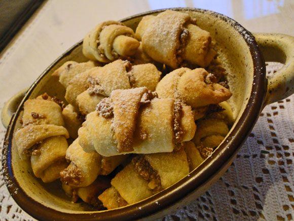 kudy-kam...: Ořechové mini rohlíčky