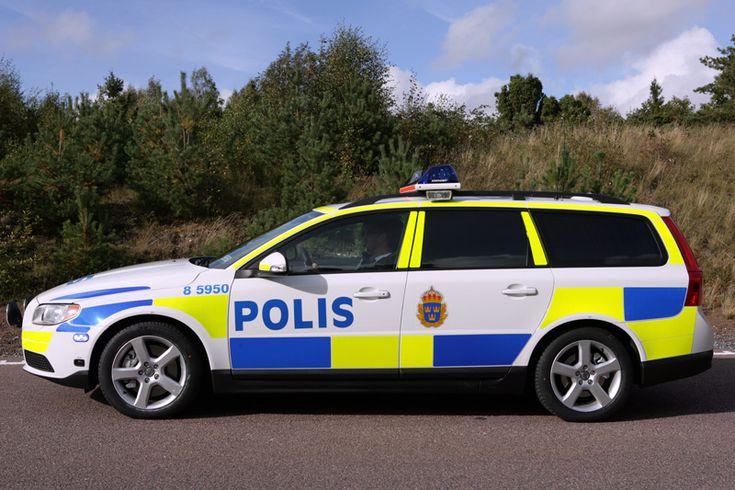 Provkörning: Volvo V70 D5 Polisbil