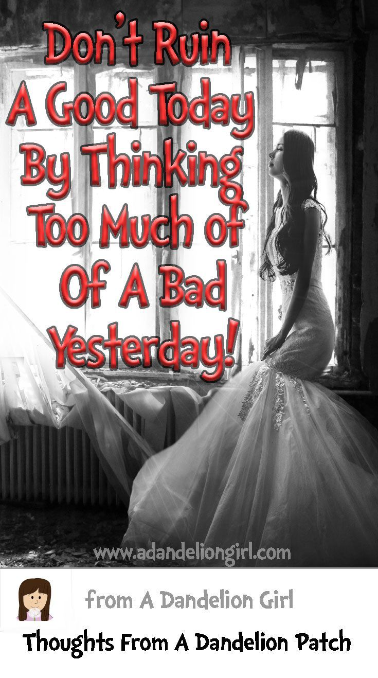 Don't Let Yesterday Take Up Too Much  of Today. I also hope you visit our site, It has lots of Inspirational quotes and sayings mixed in with beautiful scenes of sunsets, sunrises and of the ocean! http://www.adandeliongirl.com/#!inspirational-thoughts/c1vi9