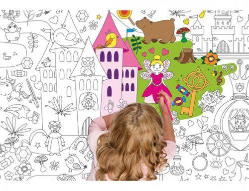 Χρωμοαφίσα Fairytale/ Supersized colouring poster Fairytale