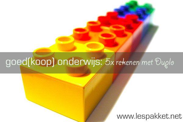 goed(koop) onderwijs - 5x rekenen met duplo - Lespakket