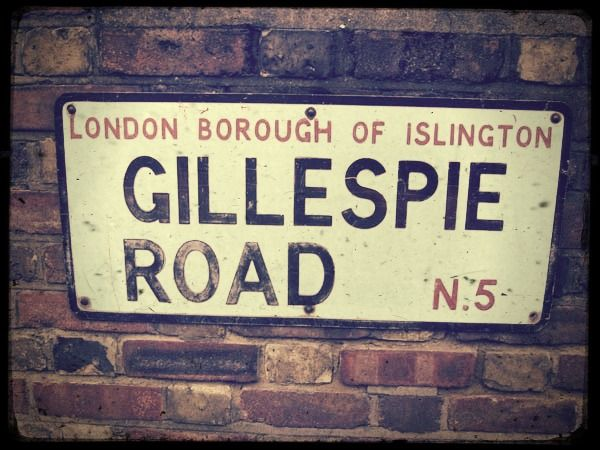 """Gillespie Road is a road in Highbury, North London, running east-west along the north side of the Arsenal Stadium, previously home of Arsenal Football Club. Arsenal tube station was originally named Gillespie Road, before being given its current name, """"Arsenal"""" in 1932 following pressure from the club. It is the only Tube station named directly after a football club."""