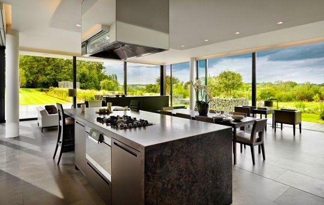 Casa de campo moderna en las orillas del r o t mesis http for Casas modernas de campo