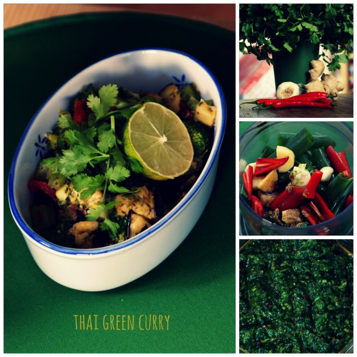 Thai Green curry, my first recipe-post...