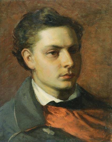 Székely Bertalan (1835-1910) - Fiatal férfi