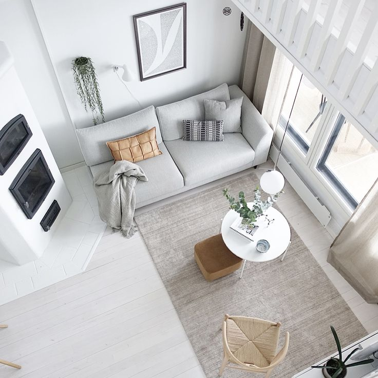 c_u_c_k_o_o | Scandinavian interior | Living room | Natural tones